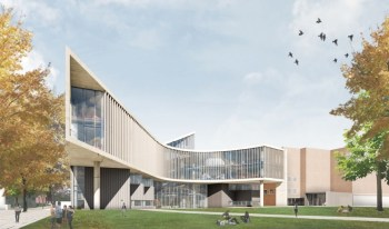 SE View of Health Sciences Building [Provided]