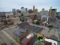 A plethora of parking dots the northwest quadrant of downtown. [Photo by Travis Estell]