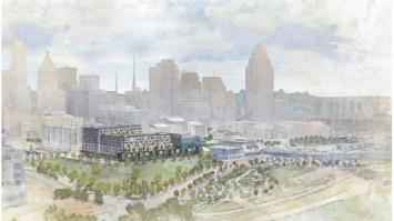 Proposed $75-$85 million development Phase III by Jeffrey R. Anderson, Pennrose, Greiwe Development, and M+A Architects