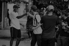 Nike black & white- Janoski 7