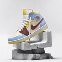 Nike cierra su colección Air Jordan 1 Mid SE Fearless con Maison Château Rouge