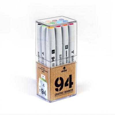 MTN 94 Graphic Marker set 12