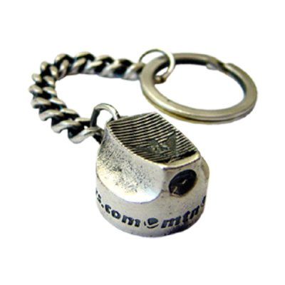MTN Silver Cap Key Ring