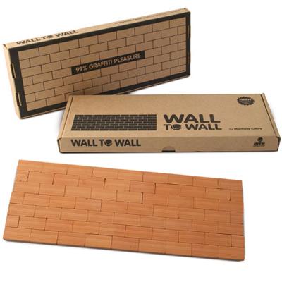Wall to Wall miniature brick wall