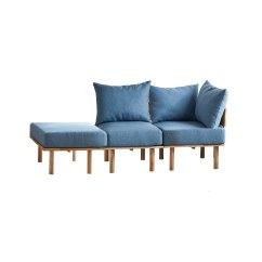 Recliner Sofa Set Philippines Gray Fabric Shanelle Furniture Store Manila