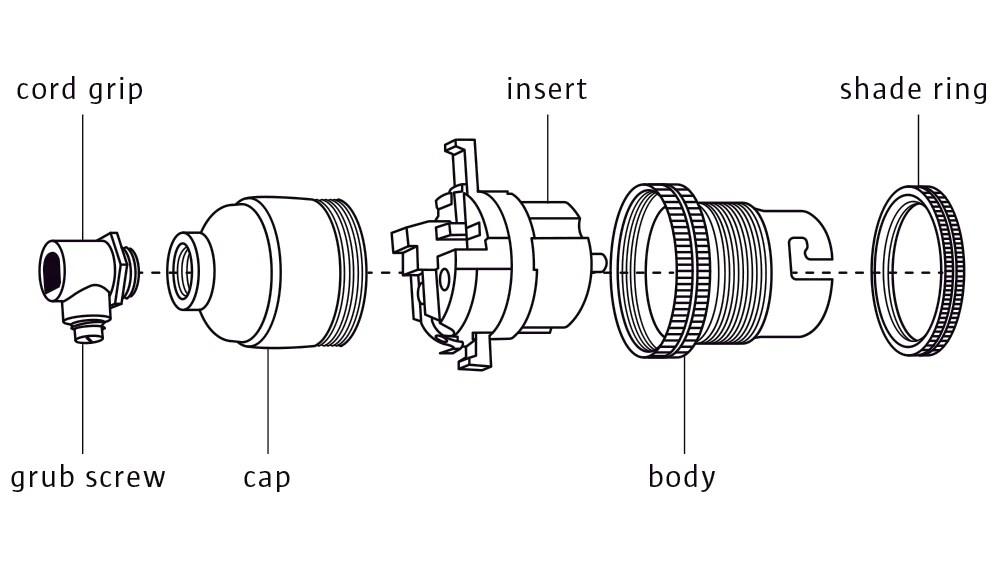 Lampholder Wiring Diagram Lamp Holders Explained Lighting 101 Factorylux