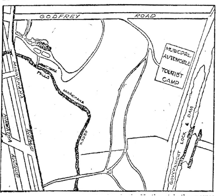 a map of the auto tourist camp.