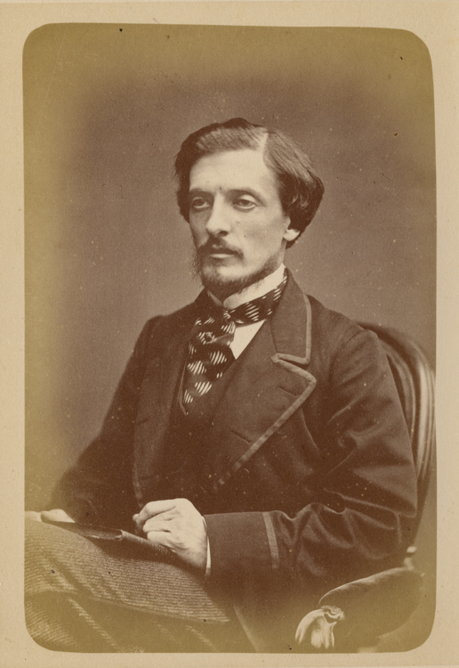 studio portrait of Lord Dufferin, sitting in a chair