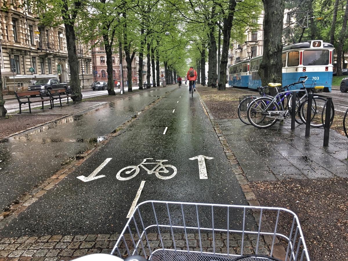 Min anledning till att cykelpendla