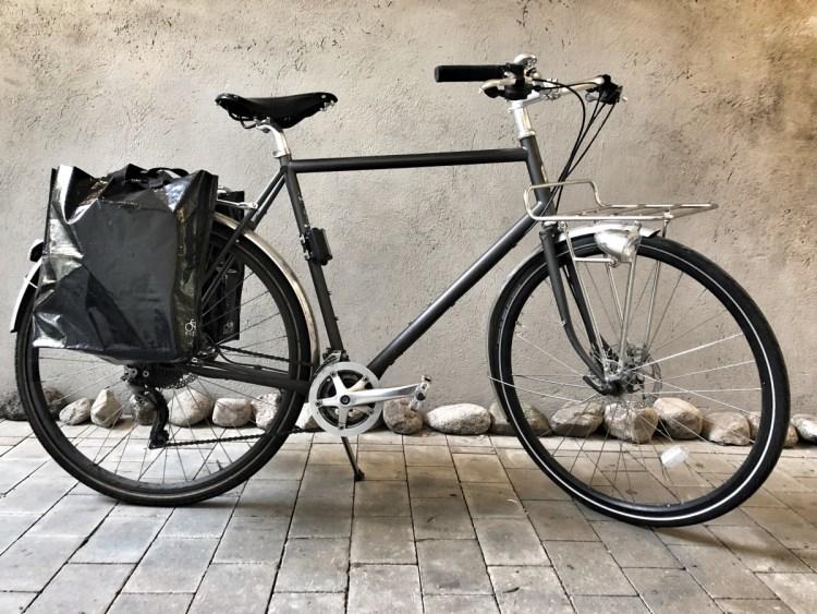 Bikezac cykelpåsar bak