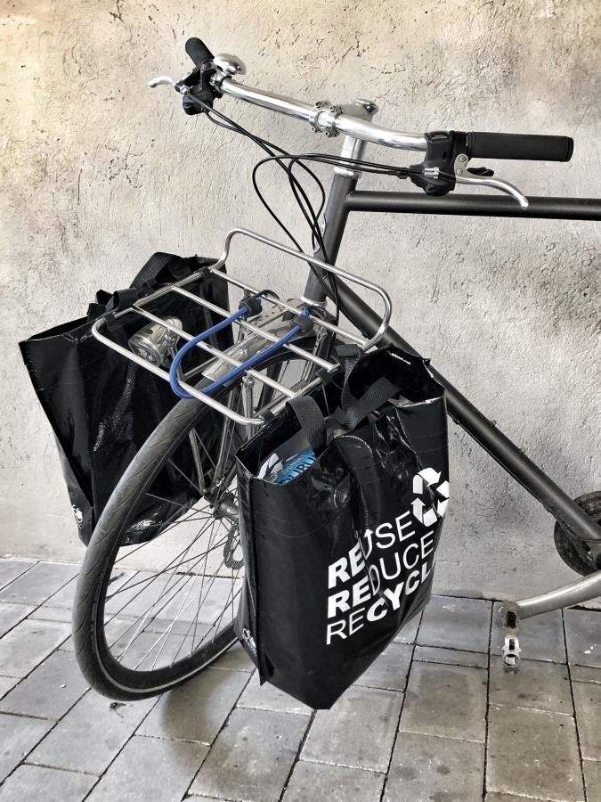 Bikezac cykelpåsar fram