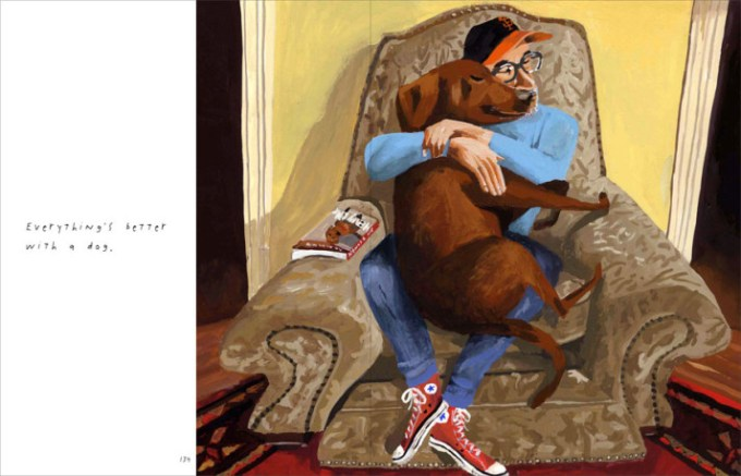 Interior Pages: Dogs Rule, Nonchalantly