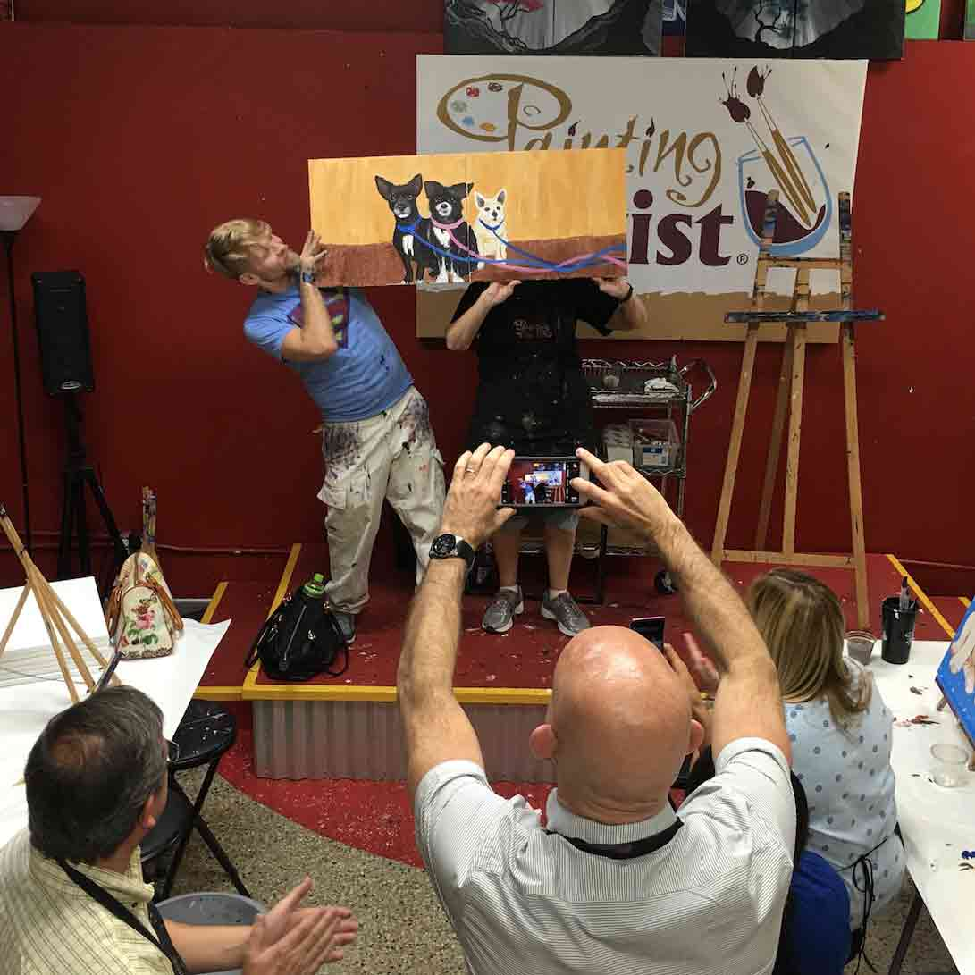 Paint Your Pet at Painting with a Twist