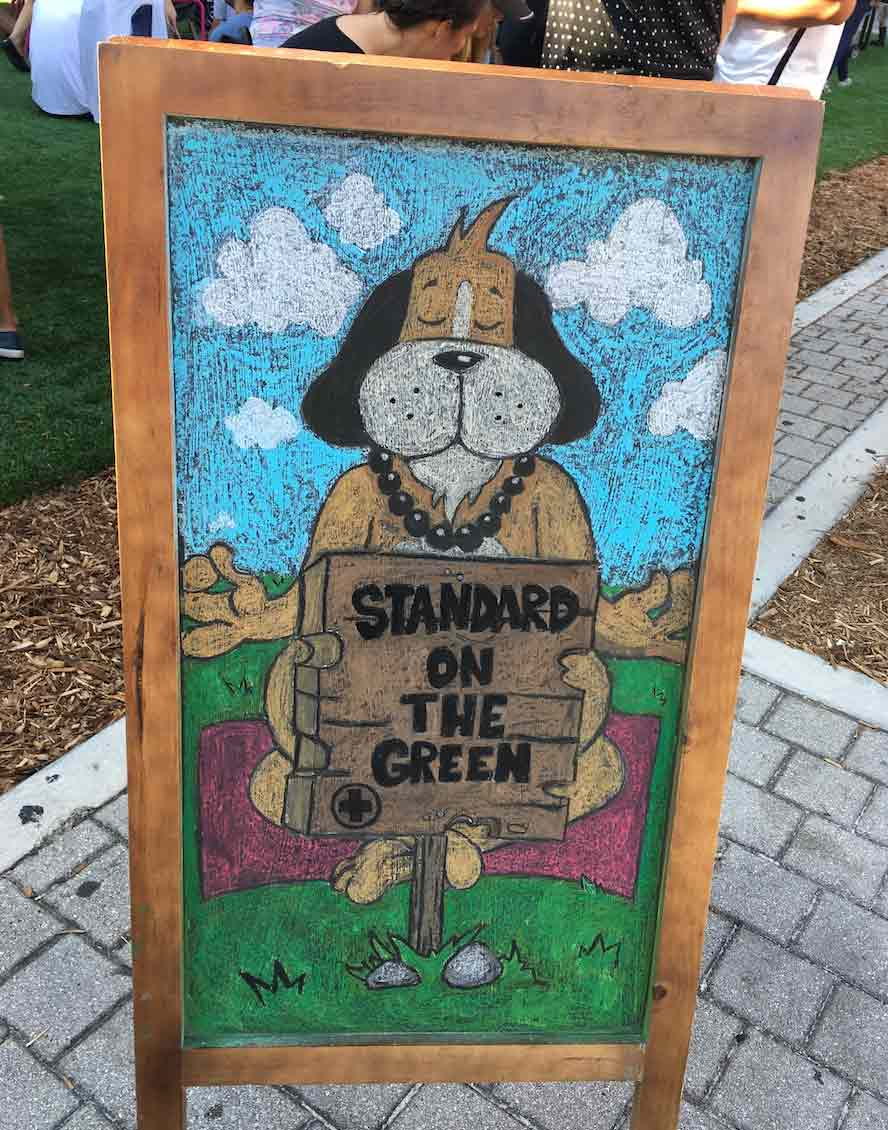 Standard on the Green