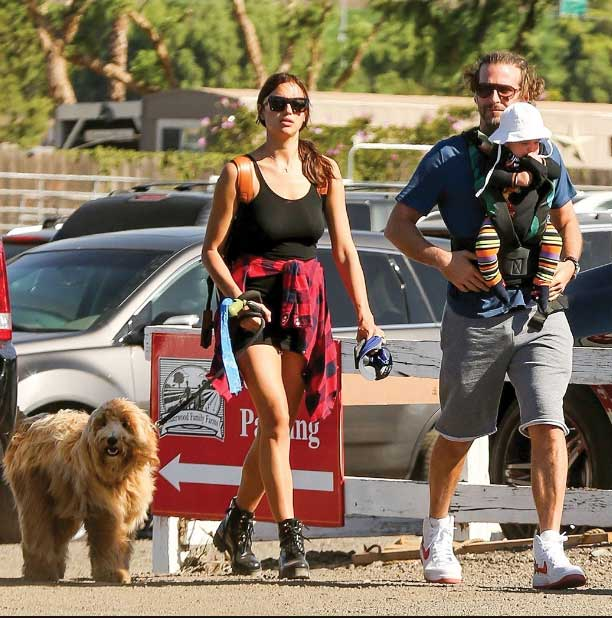 Bradley Cooper, family, and Charlie