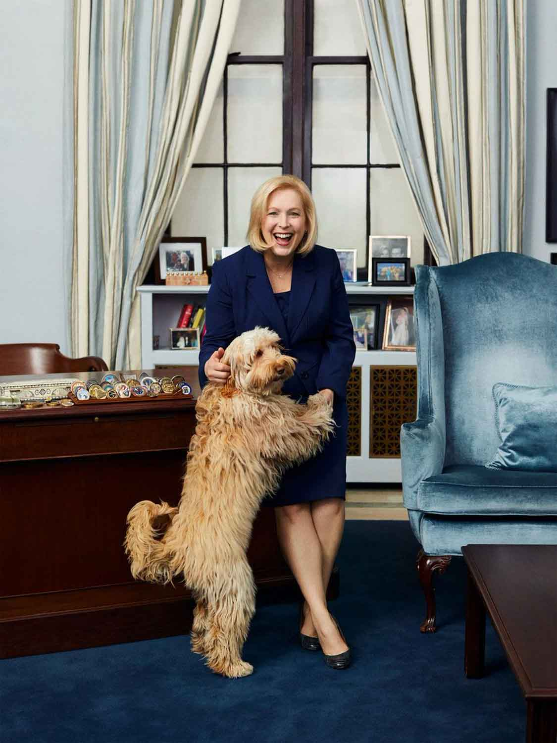 Senator Gillibrand and Maple