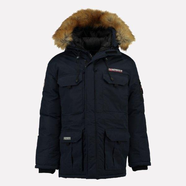 Geographical Norway Men' Parka Outdoor Coat Warm