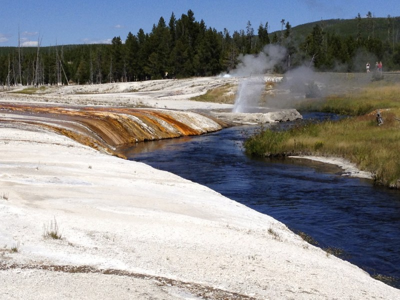 Yellowstone National Park 30 July Shoshone National Forest Rex Hale Campground Urban