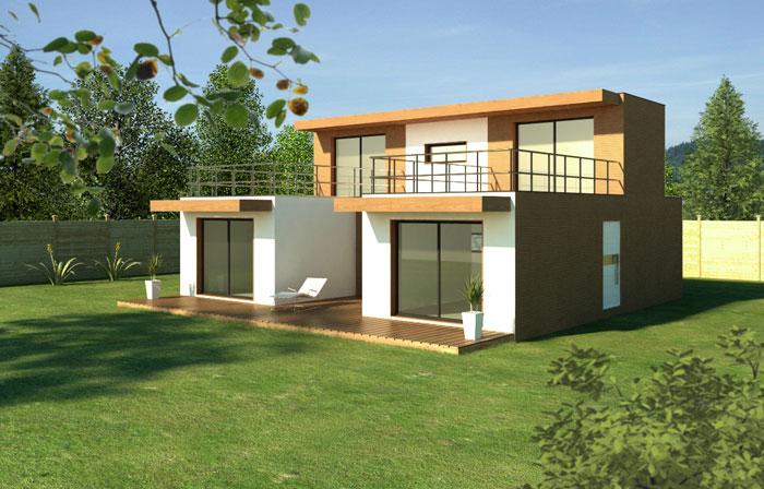 Module Home Maison modulaire en bois u2013 UrbaNews # Maison Bois Modulaire