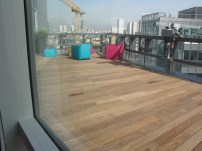 Terrasse, Dernier étage