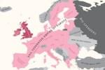 """L'Europe selon la Grande Bretagne"" - Yanko Tsvetkov - Mapping Stereotypes"