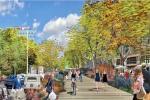 La rue Garibaldi passera de cinq à trois voies pour les voitures, mais pas deux comme le souhaitaient les riverains.