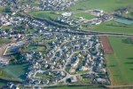 Vue aérienne de Laissac