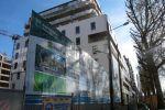 Le futur quartier Claude-Bernard sort de terre. Ici les premiers immeubles, dont certains seront habités à la fin de l'année.