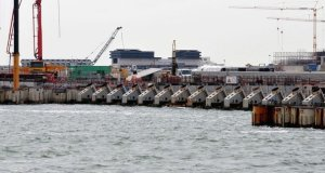 Le projet de digues flottantes Moïse à Venise