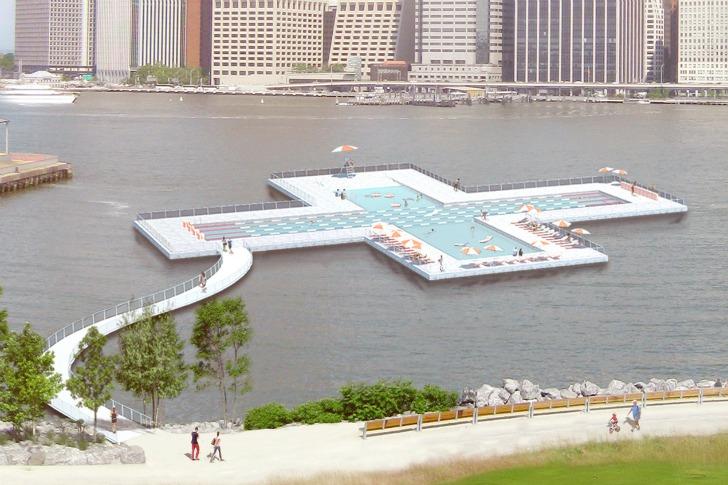 New York  Une piscine flottante sur lEast River   UrbaNews