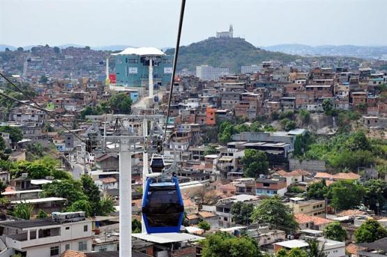 Un Métrocâble Français à Rio - Poma - © Ledauphine.com