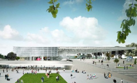 Le nouveau parc des expositions - Toulouse - OMA (Rem Koolhaas et Clément Blanchet)