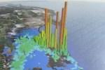 Carte de l'impact de la catastrophe de Fukushima