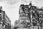 Immeubles de la rue Royale détruits pendant la Commune, le 23 mai 1871