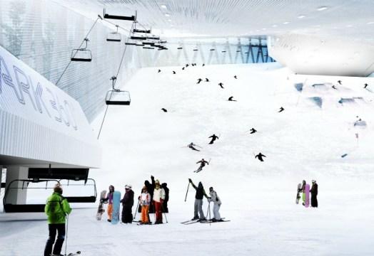 Skipark 360°  CF Moller - Stockholm