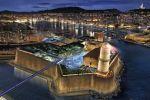 Situé sur le port de Marseille, le Musée des civilisations de l'Europe et de la Méditerranée sera hébergé dans un nouveau bâtiment et dans le fort Saint-Jean.