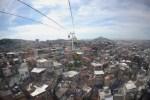 À Alemao, l'une des 763 favelas de Rio. Deux mille logements ont été construits dans ce bidonville auparavant miné par la violence urbaine.