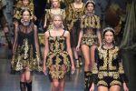 La collection automne-hiver 2012-2013 de Dolce and Gabbana s'inspire du décor des églises baroques.