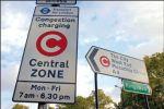 Pour limiter la circulation dans le centre de Londres, la municipalité a déterminé un périmètre payant.