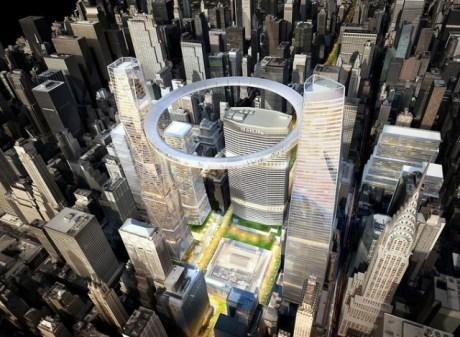 Le projet imaginé par le cabinet d'architecture Som.