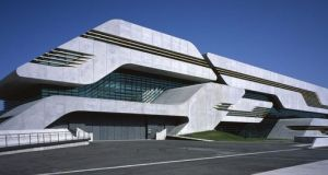 Le bâtiment Pierre Vives, à Montpellier, tout juste inauguré par l'architecte Zaha Hadid.