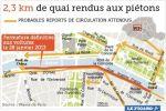 Dans une étude confidentielle à destination de la Ville et en partie divulguée dans la presse l'été dernier, le cabinet Sémaphore affirmait encore que le projet allait plutôt se répercuter sur le centre de Paris