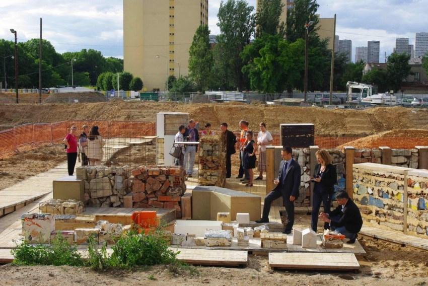 Plateau d'Ete - Ivry-sur-Seine. Démarche HQAC par Stefan Shankland et son équipe TRANS305, le collectif YA+K et les vidéastes Ouich'Eaters