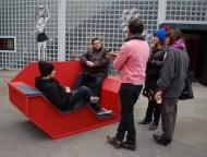 """""""Purpose"""" : Zone de valorisation des déchets - par le collectif YA+K, à Stuttgart"""