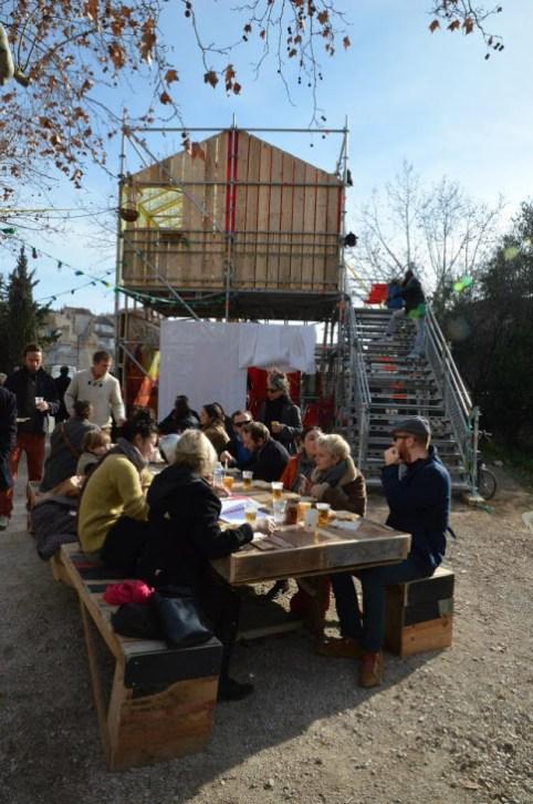 Prototype YES WE CAMP Marseille 2013