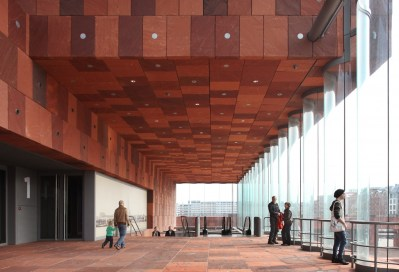 La circulation intérieure du musée © Filip Dujardin