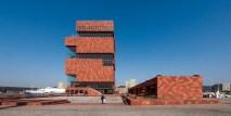 Le MAS et ses bâtiments annexes ©Neuleings-Reidijk Architecten