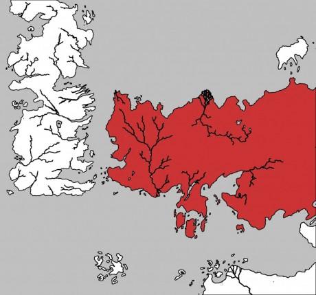 Le continent de Essos