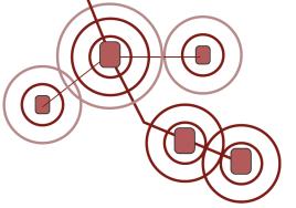 Les centralités se hiérarchisent des mieux connectées à celles qui dépendent davantage des réseaux secondaires (Crédits Urbanews)