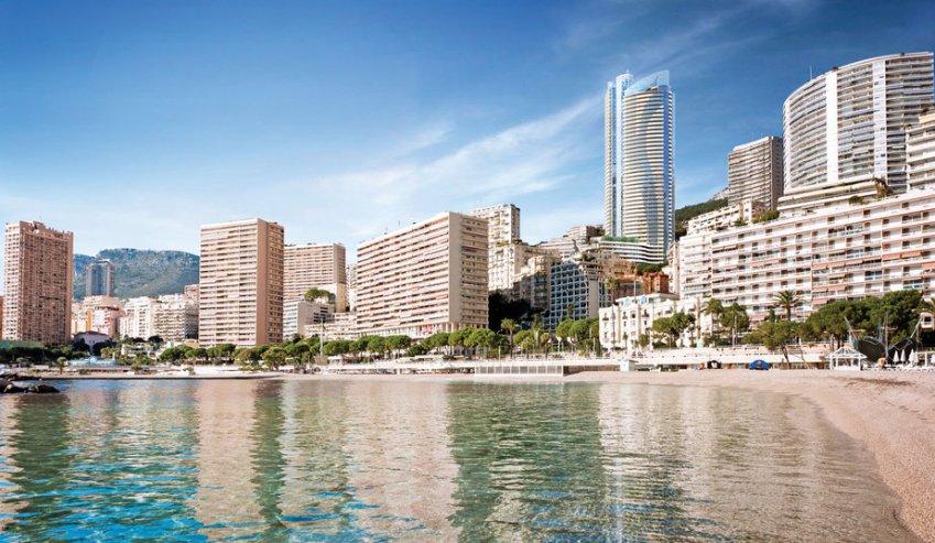 La Tour Odéon dans la skyline de Monaco (photo Tour Odéon)